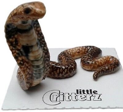 "LC982  - Little Critterz -Spectacled Cobra  ""Naja"" (Buy 5 get 6th free!)"