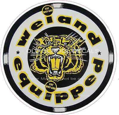 Weiand Equipped Sticker/Decal