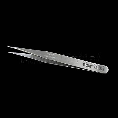 Functional Steel Anti-acid Extremely Fine Sharp Tip Straight Tweezers Tool Hot