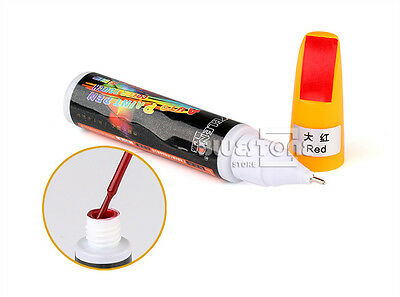 New Red Fix It Car Coat Paint Touch Up Clear Pen Scratch Repair Remover Tools