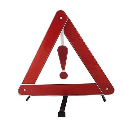 Emergency Warning Hazard Breakdown Reflecting Triangles Sign Foldable Portable