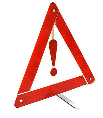 Foldable Portable Emergency Warning Hazard Breakdown Reflecting Triangles Sign