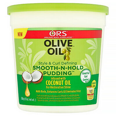 ORGANIC ROOT OLIVE OIL *ORS* SMOOTH-N-HOLD PUDDING HAIR GEL 13oz / 368.5oz BEST*