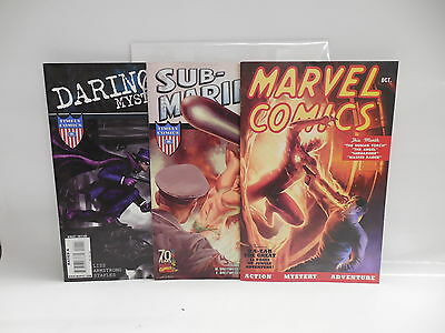 Marvel Mystery Comic Books Sub-Mariner Daring Golden Age Reprints With New Art