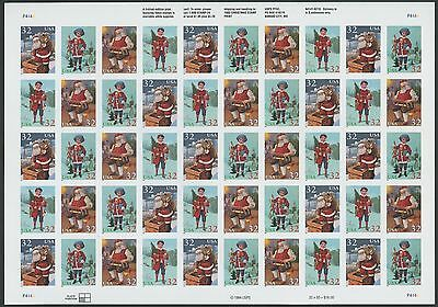 "#3007d ""CHRISTMAS"" SHEET OF 50 IMPERF CV $5,100++ WL7812"