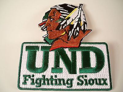 University of North Dakota UND Fighting Sioux RARE Vintage Embroidered NCAA