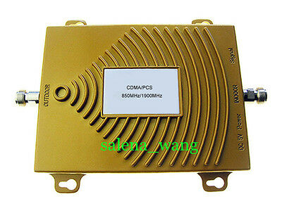 850/1900MHz Dual Band Cell Phone Signal Booster Repeater Amplifier