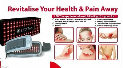 SE LED Belt Near Infrared Light Therapy Arthritis Back Pain Migrain Weight Loss