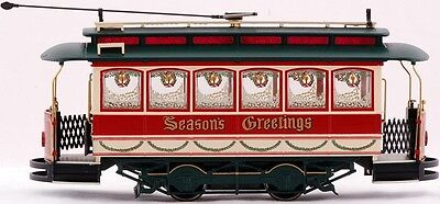 Bachmann On30 Scale Train Streetcar Analog Christmas 25127