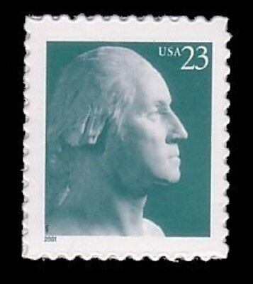 2001 23c George Washington Scott 3468a Mint F/VF NH