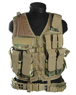 USMC Einsatzweste Gen.2 arid woodland, Weste, Security, SWAT, Paintball    -NEU-