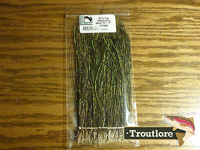 "Fly Tying Feathers - Peacock Hurl Strung Hareline Dubbin Large Herl 5-7"" - New"