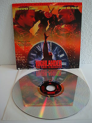 Highlander - the Final Dimension | Laserdisc  Englisch | LD: Wie neu |