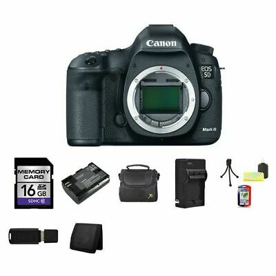 Canon EOS 5D Mark III Digital SLR Camera 16GB Package