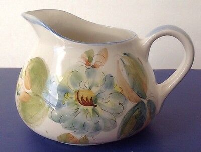 SECIA HAND PAINTED FLORAL DESIGN PITCHER PORTUGAL
