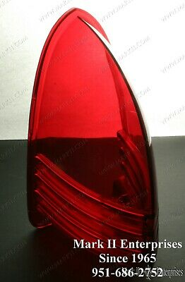1952-54 Lincoln Taillight light Lamp Lens Lense NOS QUALITY NEW