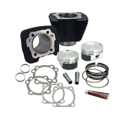 S&S Cycle 883 to 1200cc Conversion Kit Black For Harley-Davidson XL