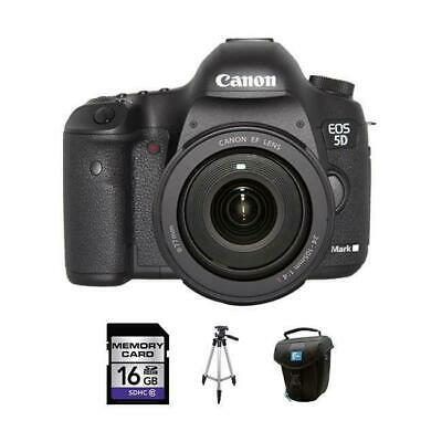 Canon EOS 5D Mark III DSLR Camera w/24-105mm Lens 16GB Kit
