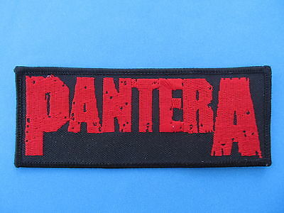 Pantera Hard Rock Music Iron On Hat Jacket Backpack Hoodie Metal Patch Crest A