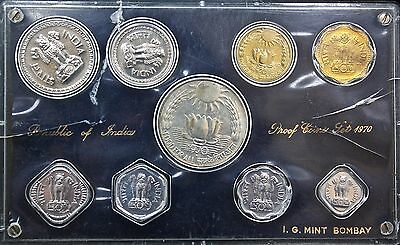 Republic Of India Set Coins 1970.