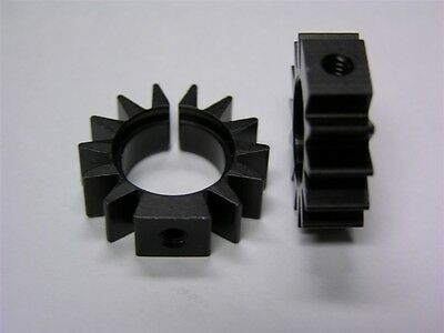 """5 Aavid Thermalloy 2273B Round Semiconductor Heat Sinks Friction Fit .54"""""""