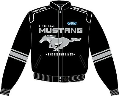 Kids Mustang Racing Jacket - Stylin' Ford Mustang Outerwear in 2T 3T 4T 5 6 & 7