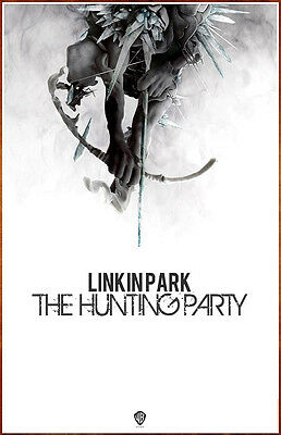 LINKIN PARK The Hunting Party 2014 Ltd Ed New RARE Poster +FREE Alt Rock Poster!