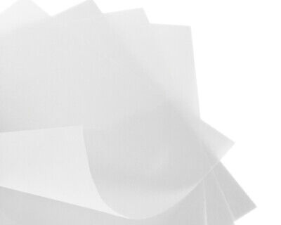 50 x A4 Vellum Translucent Heavyweight Tracing Paper 150gsm Arts & Crafts