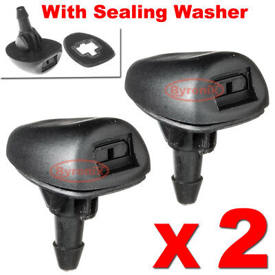 Citroen Saxo C4 Xsara Mist Washer Jets Spray Front Windscreen Nozzles Water Jet