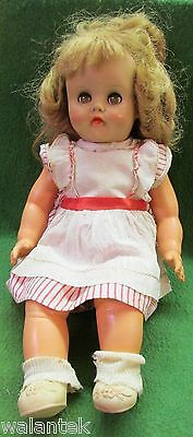 Old Horsman Rubber Doll 16 1/2""