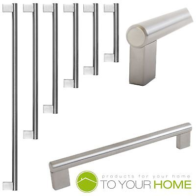 Boss Bar Stainless Steel Kitchen Cupboard Cabinet Drawer Door Handles 6 Sizes