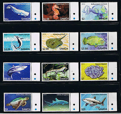 Samoa - Marine Life Definitives Postage Stamp Issue