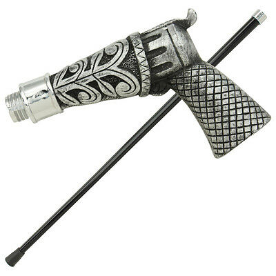 Old Time Six Shooter Fashionable Gentleman's  Walking Cane Staff