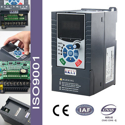Vector Cotrol 3Phase 400VAC 1.5KW 2hpVariable Frequency Drive Inverter 3.8A VFD