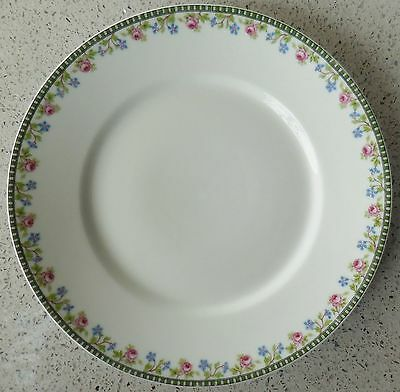 Vintage Limoges U.C. France Dinner Plate, Mitchell Woodbury Co. Importers Boston