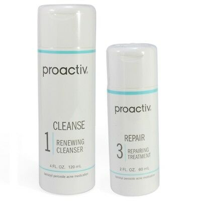 Proactiv Renewing Cleanser and Repairing Treatment 60 Day 120ml lotion