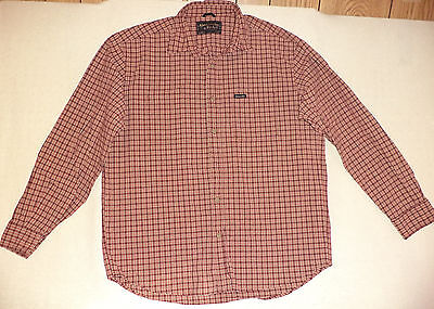 Abercrombie & Fitch L/s Multi-Colored Check Button Front Shirt   M        K#8164