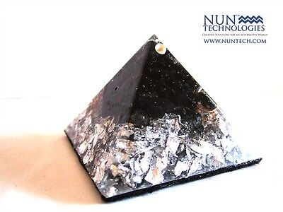 Orgone Crystal Healing Pyramid For Grounding and Mental Stability!