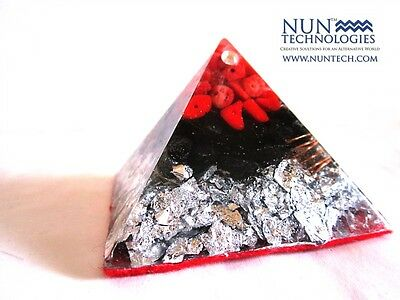 Orgone Crystal Healing Pyramid For For Kundalini Activation!