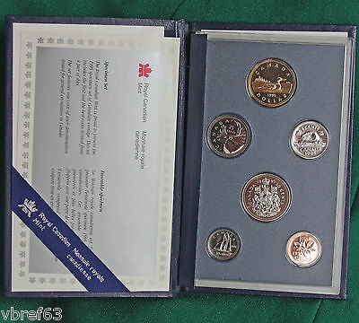 1995 Canada Specimen set - lot of 10 sets in perfect condition
