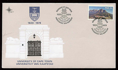 South Africa 1979 University Of Cape Town FDC First Day Cover #C13701