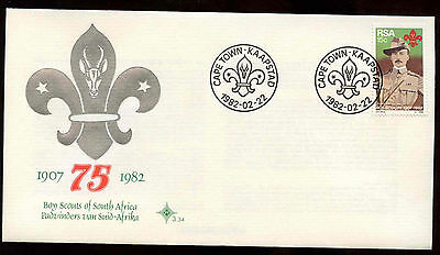 South Africa 1982 Boy Scout Movement First Day Cover #C13718