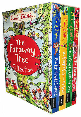 Enid Blyton's The Magic Faraway Tree Collection 4 Books Set New Childrens Books