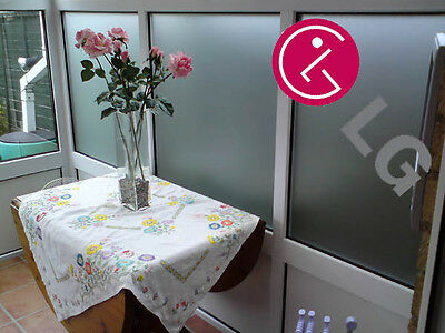 1mtr x 1220mm Roll LG Conservatory Window Frosted Privacy Film Fits Most Windows
