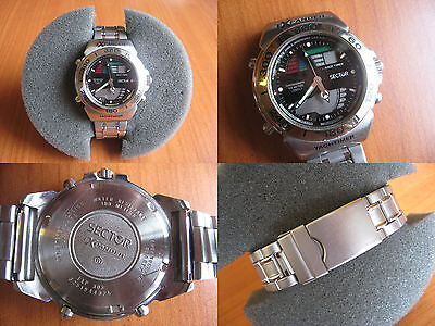 """SECTOR EXPANDER """"YACHTIMER"""" Ana-Digital - Vintage Watch - Orologio anni '90"""