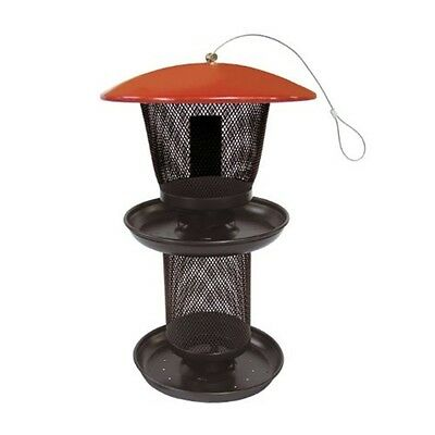 No/No Multi-Seed Feeder Red/Black Sweet Corn Products Wild Bird Feeders 80065