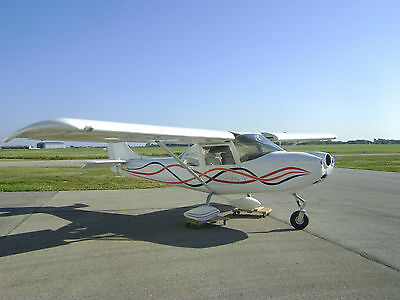 Experimental Aircraft 2 person seating all metal frame