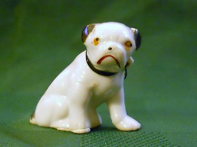 Vintage Porcelain FRENCH BULLDOG Figurine - Very Good Condition