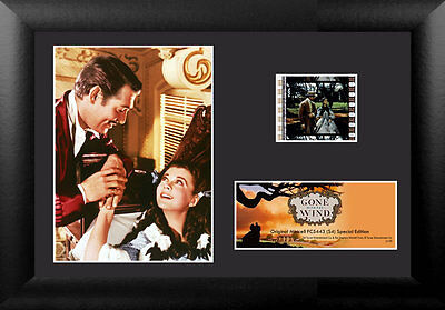 Film Cell Genuine 35mm Framed Matted Gone With The Wind Limited Edition USFC5443