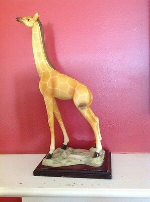 Large Alabaster Giraffe, Collectors Edition, 1995